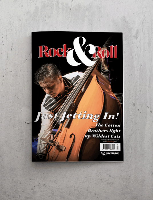 UK Rock and Roll Front Cover February 18
