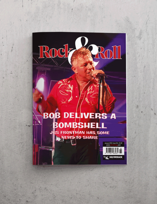 UK Rock and Roll Front Cover January 18