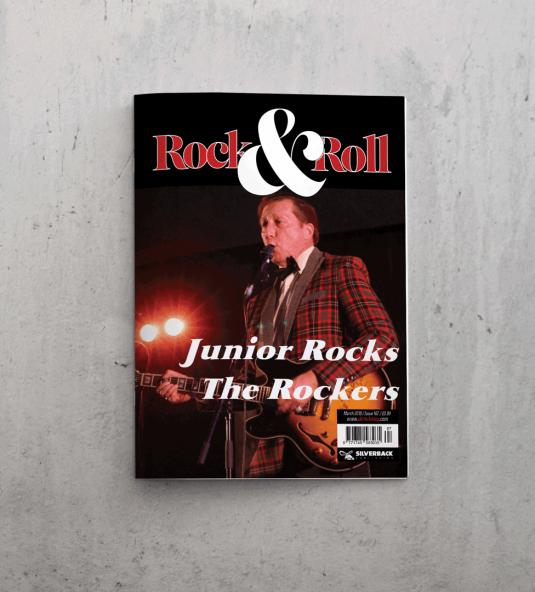 UK Rock and Roll Front Cover March 18