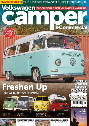 VW Camper Issue 136 front cover