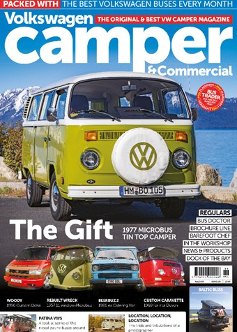 VW Camper front cover issue 153