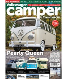 VW Camper Issue 152 front cover