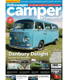 VW Camper Issue 155 front cover