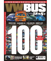 VW Bus Issue 100 front cover