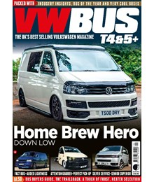 VW Bus issue 105 front cover