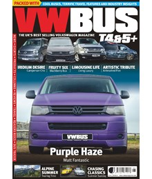 VW Bus issue 99 front cover