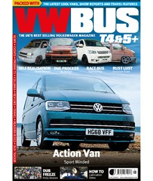 VW Bus issue 96 front cover