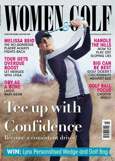 Jan Feb 2020 front cover Women and Golf