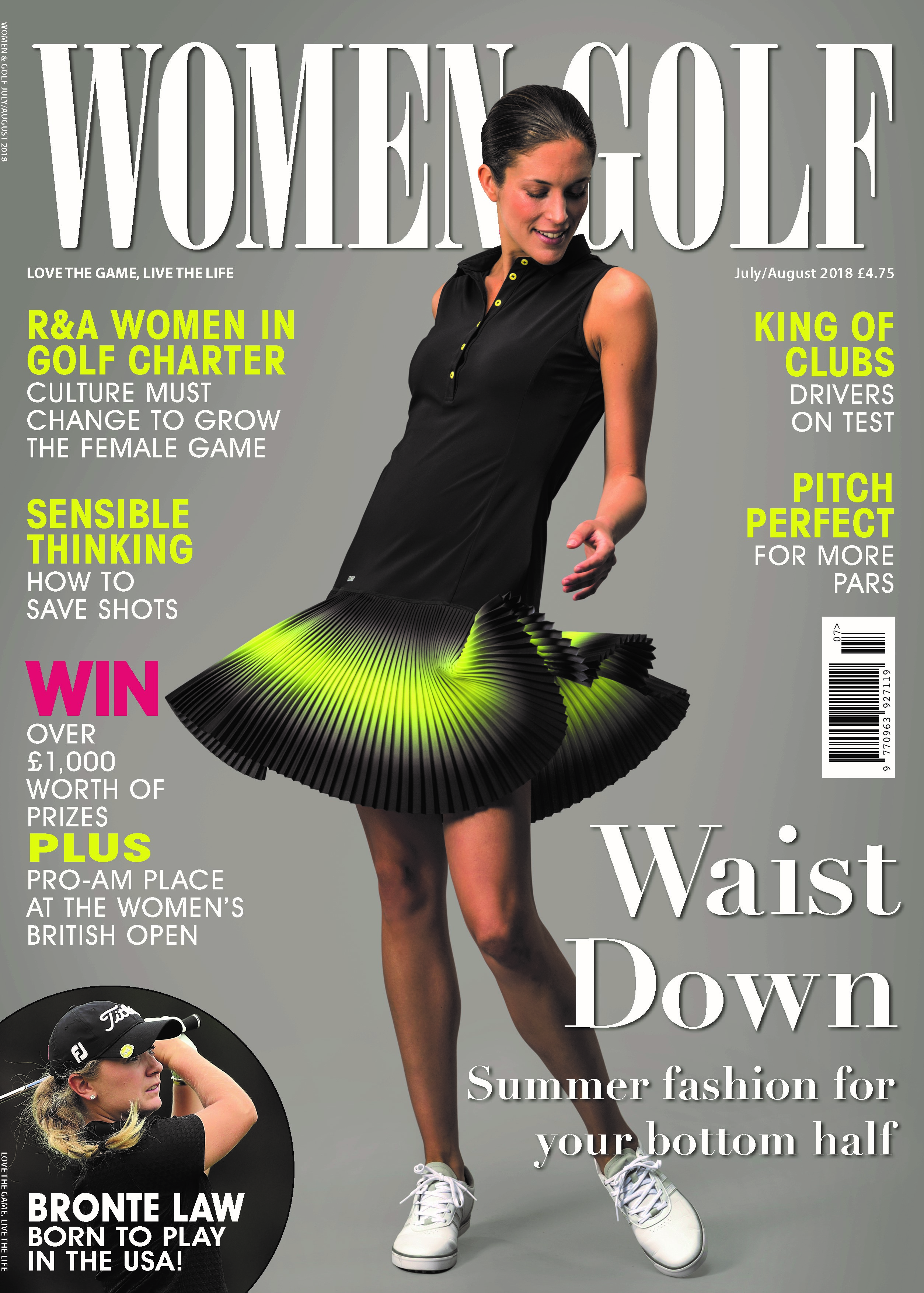 Women and Golf JulAug 18 front cover